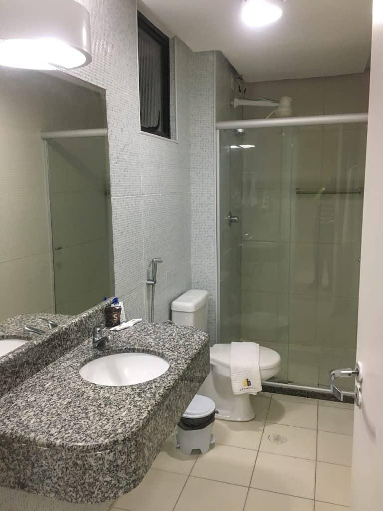 Bathroom at Hit Hotel