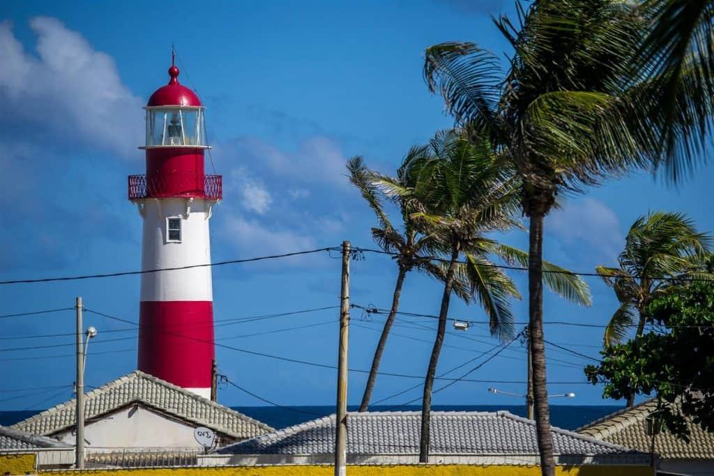 Beach lighthouse