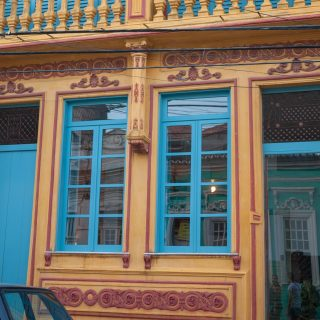Colorful house in Santo Antônio