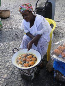 Baiana de acarajé