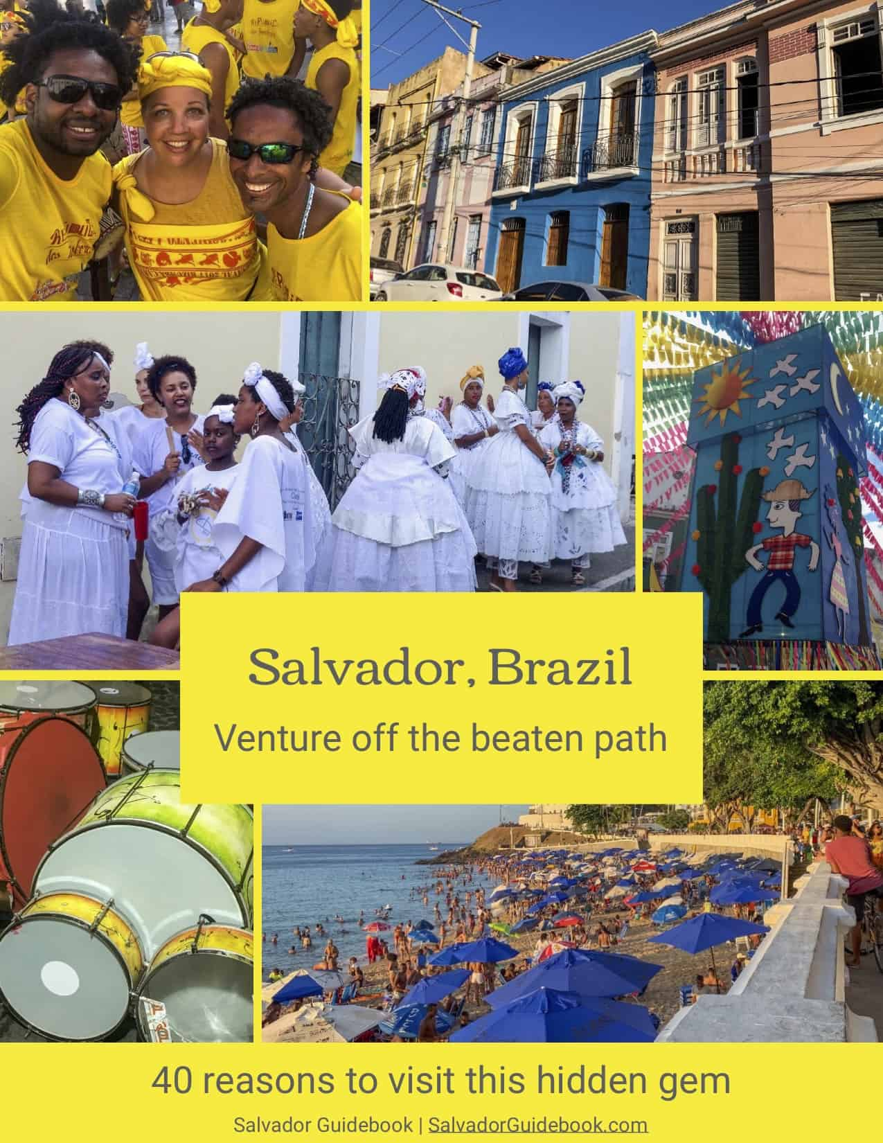 Collage of images of Salvador